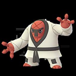 Modèle de Judokrak - Pokémon GO