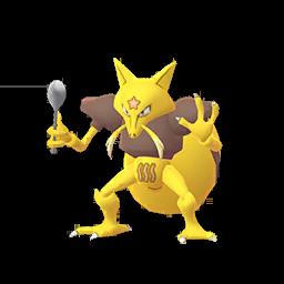 Sprite femelle de Kadabra - Pokémon GO