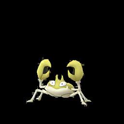 Fiche de Krabby - Pokédex Pokémon GO