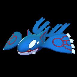 Fiche Pokédex de Kyogre - Pokédex Pokémon GO