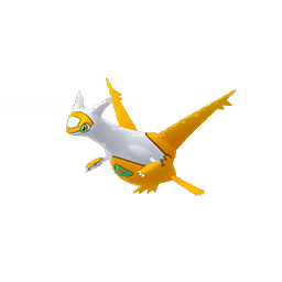 Sprite femelle chromatique de Latias - Pokémon GO