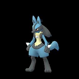 Modèle de Lucario - Pokémon GO