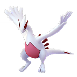 Sprite chromatique de Lugia - Pokémon GO