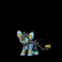 Sprite femelle de Luxio - Pokémon GO