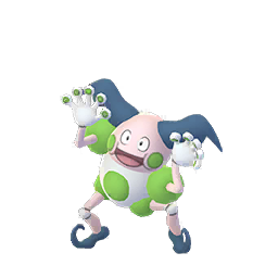 Sprite chromatique de M. Mime - Pokémon GO