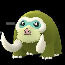 Sprite mâle chromatique de Mammochon - Pokémon GO