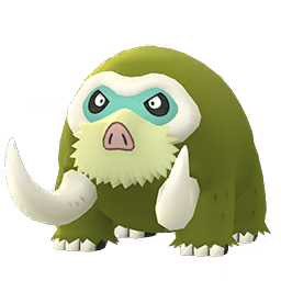 Modèle shiny de Mammochon - Pokémon GO