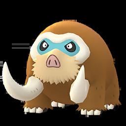 Modèle de Mammochon - Pokémon GO