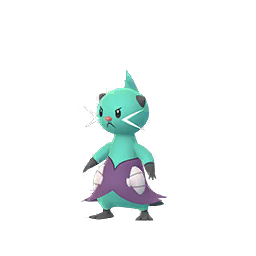 Sprite chromatique de Mateloutre - Pokémon GO