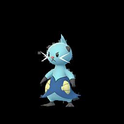 Sprite  de Mateloutre - Pokémon GO