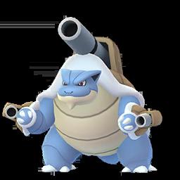 Sprite  de Méga-Tortank - Pokémon GO