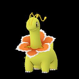 Sprite mâle chromatique de Méganium - Pokémon GO