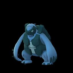 Sprite chromatique de Mégapagos - Pokémon GO
