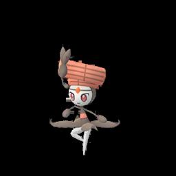 Sprite  de Meloetta - Pokémon GO