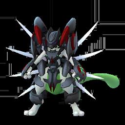 Modèle shiny de Mewtwo en Armure - Pokémon GO