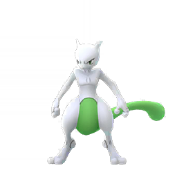Sprite chromatique de Mewtwo - Pokémon GO