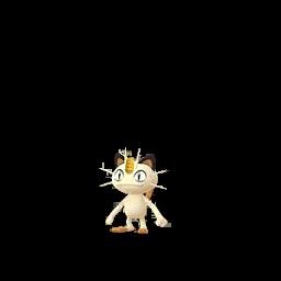 Sprite  de Miaouss - Pokémon GO