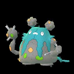 Sprite chromatique de Miasmax - Pokémon GO