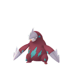 Sprite chromatique de Minotaupe - Pokémon GO