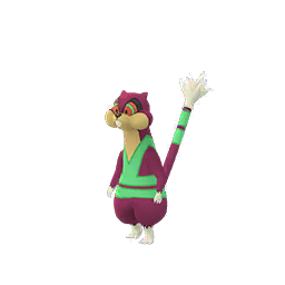 Sprite chromatique de Miradar - Pokémon GO
