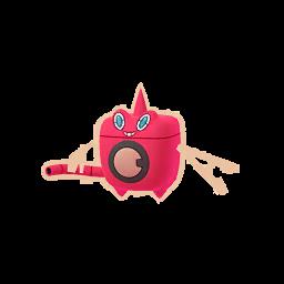 Modèle shiny de Motisma forme Lavage - Pokémon GO