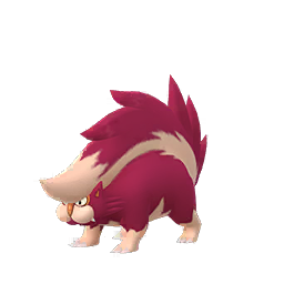 Sprite chromatique de Moufflair - Pokémon GO