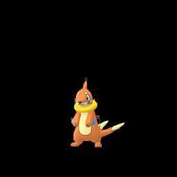 Sprite femelle de Mustébouée - Pokémon GO