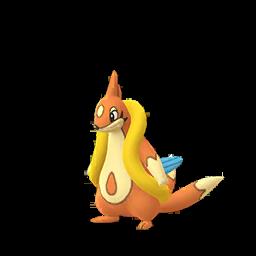 Sprite femelle de Mustéflott - Pokémon GO