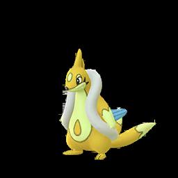 Sprite mâle chromatique de Mustéflott - Pokémon GO