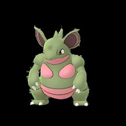 Sprite femelle chromatique de Nidoqueen - Pokémon GO