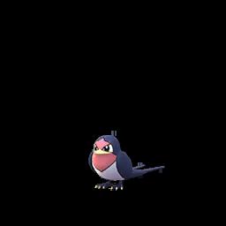 Sprite  de Nirondelle - Pokémon GO
