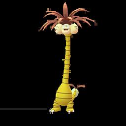 Modèle shiny de Noadkoko d'Alola - Pokémon GO