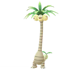 Modèle de Noadkoko d'Alola - Pokémon GO