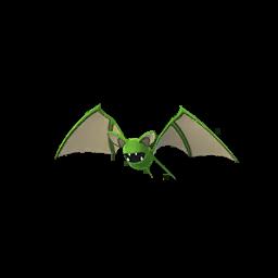 Sprite femelle chromatique de Nosferapti - Pokémon GO