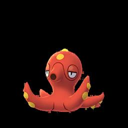 Modèle de Octillery - Pokémon GO