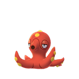 Sprite  de Octillery - Pokémon GO