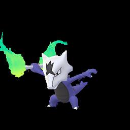 Ossatueur Alola Shiny Pokémon Go