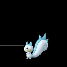 Sprite femelle de Pachirisu - Pokémon GO