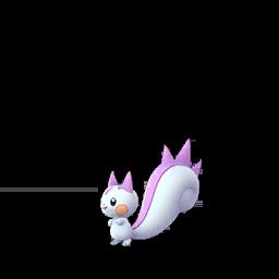 Sprite mâle chromatique de Pachirisu - Pokémon GO