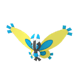 Modèle shiny de Papilord - Pokémon GO