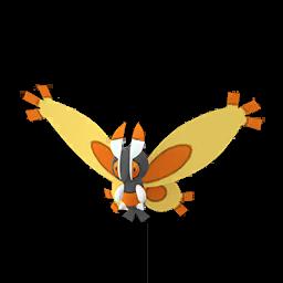 Modèle de Papilord - Pokémon GO