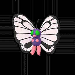 Sprite femelle chromatique de Papilusion - Pokémon GO