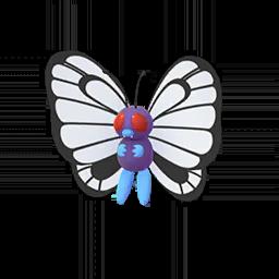 Sprite femelle de Papilusion - Pokémon GO
