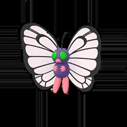 Sprite mâle chromatique de Papilusion - Pokémon GO