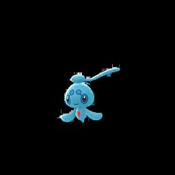 Modèle de Phione - Pokémon GO