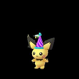 Pokémon pichu-festif