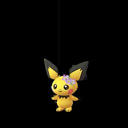 Pokémon pichu-fleurs-s