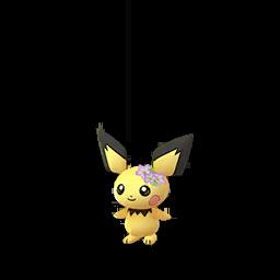 Pokémon pichu-fleurs