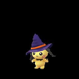 Pichu d'Halloween