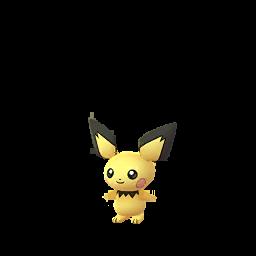 Sprite  de Pichu - Pokémon GO